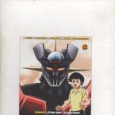 Series de TV: DVD MAZINGER Z EDICIÓN IMPACTO EPISODIO 12.DA. Lote 87679004