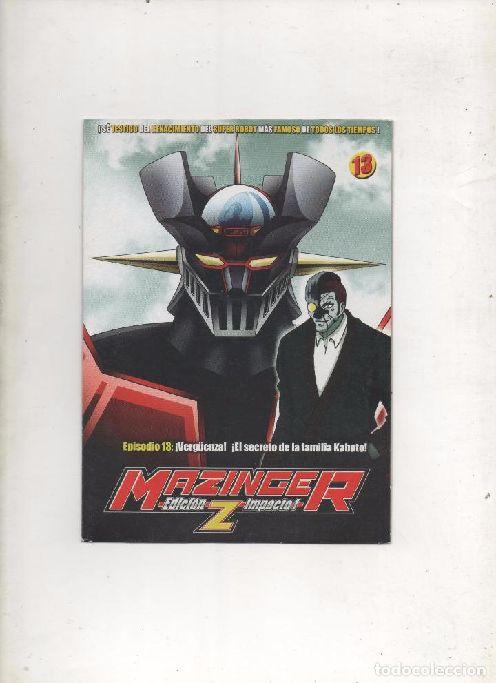 DVD MAZINGER Z EDICIÓN IMPACTO EPISODIO 13.DA (Series TV en DVD)