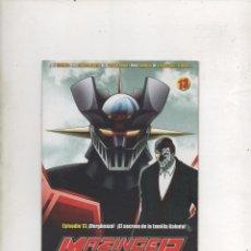 Series de TV: DVD MAZINGER Z EDICIÓN IMPACTO EPISODIO 13.DA. Lote 87679056