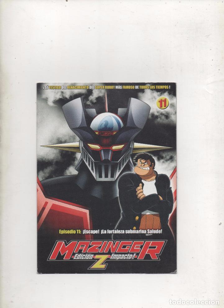 DVD MAZINGER Z EDICIÓN IMPACTO EPISODIO 11.DA (Series TV en DVD)