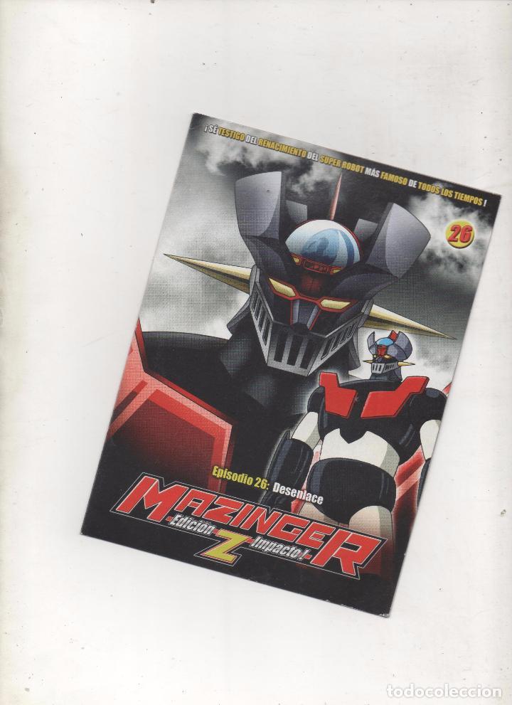 DVD MAZINGER Z EDICIÓN IMPACTO EPISODIO 26.DA (Series TV en DVD)