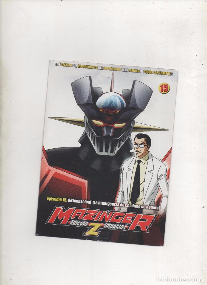 DVD MAZINGER Z EDICIÓN IMPACTO EPISODIO 15.DA (Series TV en DVD)
