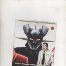 Series de TV: DVD MAZINGER Z EDICIÓN IMPACTO EPISODIO 15.DA. Lote 87679140