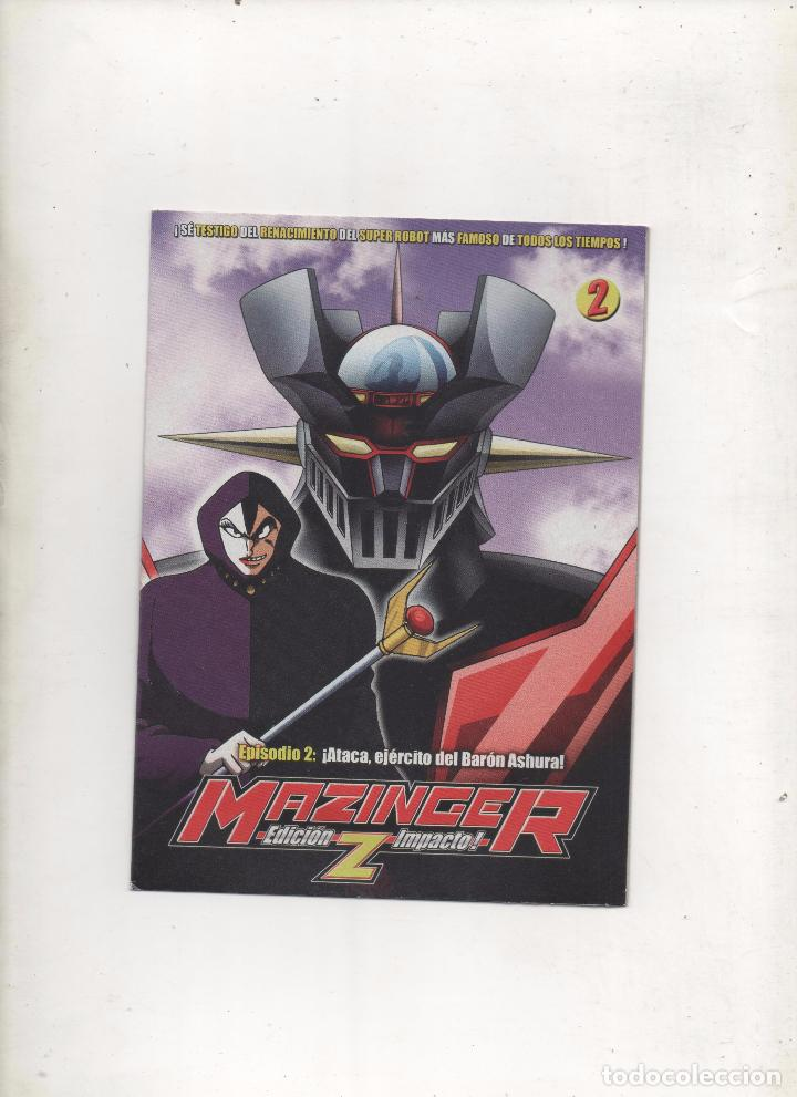 DVD MAZINGER Z EDICIÓN IMPACTO EPISODIO 2.DA (Series TV en DVD)