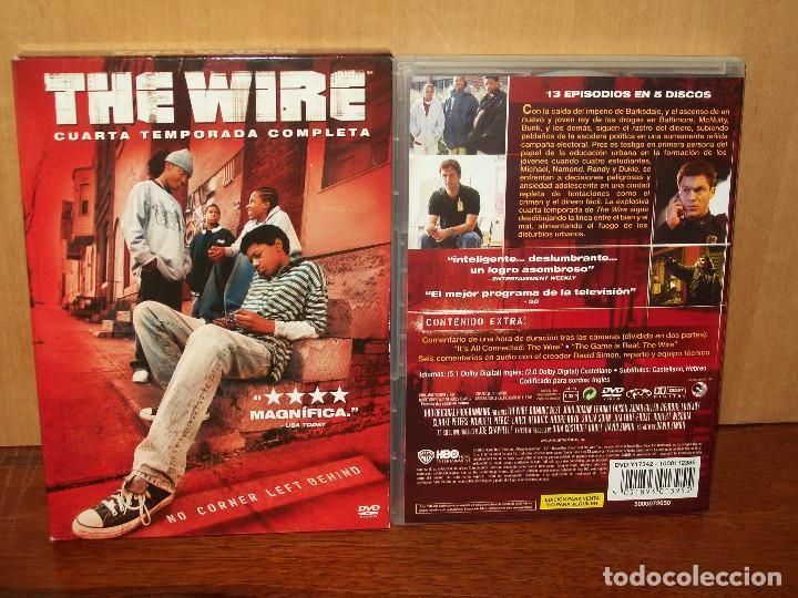 PACK THE WIRE - CUARTA TEMPORADA COMPLETA EN DVD - 5 DVDS