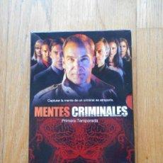 Series de TV: MENTES CRIMINALES PRIMERA TEMPORADA COMPLETA, 6 DVDS. Lote 88125368