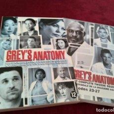 Series de TV: ANATOMIA DE GREY - SERIE DVD - TEMPORADA 2 - SEGUNDA - EPISODIOS DEL 1 AL 27 - ESPAÑOL.. Lote 155700166