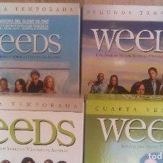 Cine: WEEDS 1ª 2ª 3ª Y 4ª TEMPORADAS COMPLETAS DVD. Lote 89497456