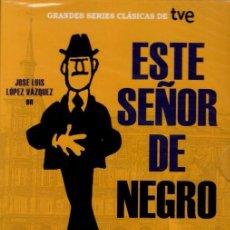 Cine: ESTE SEÑOR DE NEGRO (SERIE TV = 345 MIN.) CERCA DE 6 HORAS DE HUMOR DEL BUENO!!. PRECINTADA. Lote 89742170
