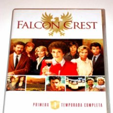 Series de TV: FALCON CREST TEMPORADA 1 (4 DISCOS) - JANE WYMAN ROBERT FOXWORTH LORENZO LAMAS DVD DESCATALOGADA. Lote 89878828