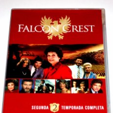 Series de TV: FALCON CREST TEMPORADA 2 (6 DISCOS) - JANE WYMAN ROBERT FOXWORTH LORENZO LAMAS DVD DESCATALOGADA. Lote 89878831