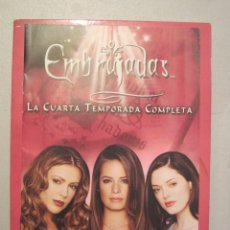 Series de TV: DVD EMBRUJADAS TEMPORADA 4 COMPLETA. Lote 90196232