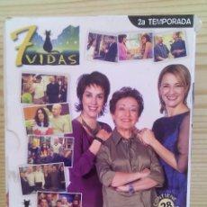 Series de TV: 7 VIDAS - TEMPORADA 2 - SERIE COMPLETA EN 6 DVD. Lote 125919503