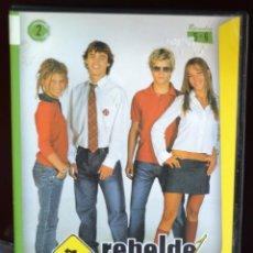 Series de TV: DVD REBELDE WAY EPISODIOS 5 - 8. Lote 90224492