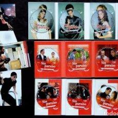 Series de TV: SIN TETAS NO HAY PARAÍSO. 1ª Y 2ª TEMPORADAS COMPLETAS. 10 DVD + POSTALES. MUY BUEN ESTADO.. Lote 172951228