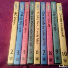 Series de TV: BARRIO SÉSAMO. 9 DVDS EDUCATIVOS.. Lote 90914572