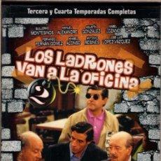 Cine: LOS LADRONES VAN A LA OFICINA ( 4 DVD- 3ª Y 4ª TEMPORADAS) ... Y LA RISA SIGUE Y SIGUE. ..GENIAL. Lote 91411595