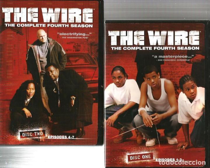 the wire : caja cuarta temporada completa ( 4 d - Kaufen ...