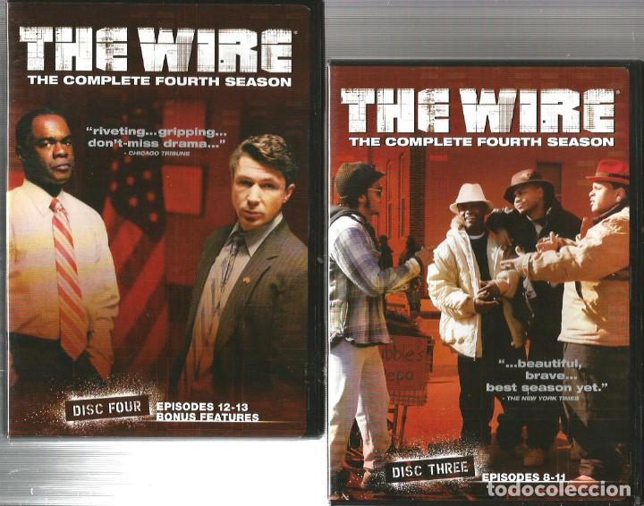the wire : caja cuarta temporada completa ( 4 d - Comprar Series de ...