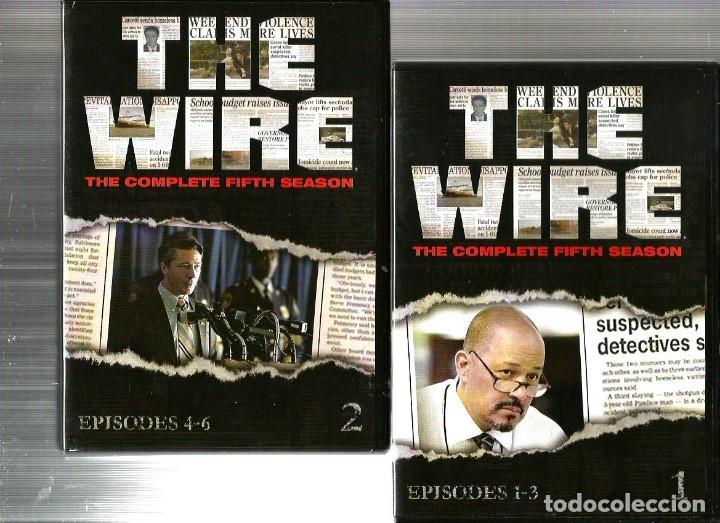 the wire : caja quinta temporada completa ( 4 d - Kaufen ...