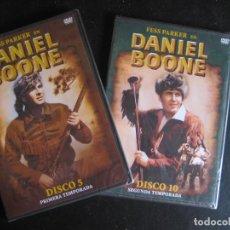 Cine: 2 DVD PRECINTADOS DANIEL BOONE PRIMERA TEMPORADA DISCO 5 Y SEGUNDA TEMPORADA 10 NUEVOS. Lote 93373890