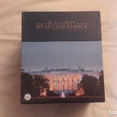 Cine: EL ALA OESTE DE LA CASA BLANCA. LA COLECCIÓN COMPLETA EN CAJA.. Lote 111237775