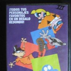 Cine: DVD TODOS TUS PERSONAJES FAVORITOS EN UN REGALO REDONDO CARTOON NETWORK - SUPERNENAS, FOSTER . Lote 93919485