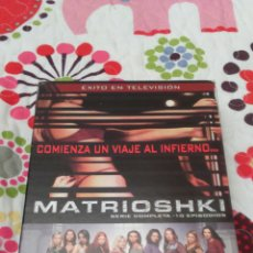 Series de TV: DVD. MATRIOSHKI. SERIE COMPLETA. DESCATALOGA.. Lote 94028267
