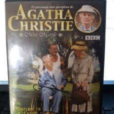 Series de TV: DVD1//MISTERIO EN EL CARIBE//MISS MARPLE. Lote 94106675