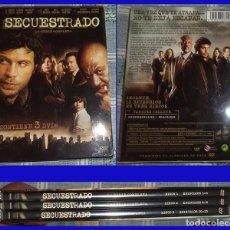 Series de TV: SECUESTRADO SERIE DE TV COMPLETA EN 3 DVD . Lote 94187005