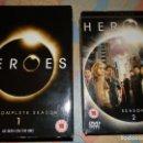 Series de TV: HEROES, TEMPORADA I Y II, ESTUCHADAS. Lote 95167699