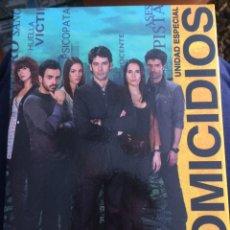 Series de TV: HOMICIDIOS - UNIDAD ESPECIAL. Lote 95197134