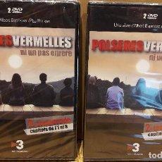 Cine: POLSERES VERMELLES. 2ª TEMPORADA COMPLETA / CAPÍTULOS 1 AL 15 + EXTRAS. EN TOTAL 2 X 2 DVD.. Lote 95696139