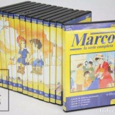 Cine: SERIE DE TELEVISIÓN DIBUJOS ANIMADOS - MARCO. LA SERIE COMPLETA - 13 DVD - PLANETA JUNIOR, 2003. Lote 95742163