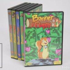 Cine: SERIE DE TELEVISIÓN DIBUJOS ANIMADOS - BANNER Y FLAPPY. SERIE COMPLETA - 6 DVD -PLANETA JUNIOR, 2004. Lote 95742563