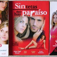 Cine: SIN TETAS NO HAY PARAISO...SERIE COMPLETA...10 DVD´S EN TRES VOLUMENES. Lote 95826071
