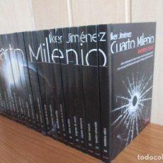 Cine: DVD: CUARTO MILENIO, IKER JIMENEZ - SERIE DOCUMENTAL EN 24 DVD´S. Lote 95861199