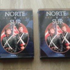 Cine: DVD. NORTE Y SUR. TEMPORADAS 1 Y 2. SERIE DESCATALOGADA Y MUY BUSCADA.. Lote 95873728