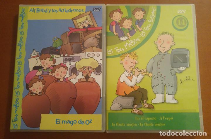 Series de TV: Pack Lote 6 DVDs dibujos Las tres mellizas, Ice Age 2, My Scene, Lunnis, Horton - Foto 3 - 96719655