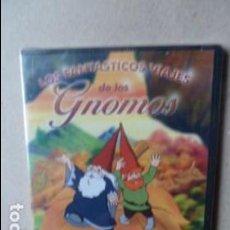 Cine: LOS FANTASTICOS VIAJES DE LOS GNOMOS -DVD. Lote 96756591