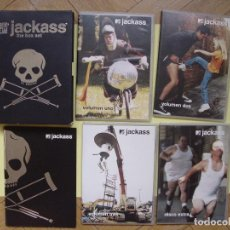 Cine: PACK 4 DVD: JACKASS (THE BOX SET, 2005) MTV CON FOLLETO ¡COLECCIONISTA!. Lote 96883351