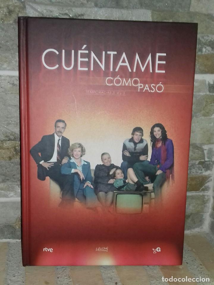LIBRO CUÉNTAME CÓMO PASÓ. TEMPORADA 3-4-5 (Series TV en DVD)