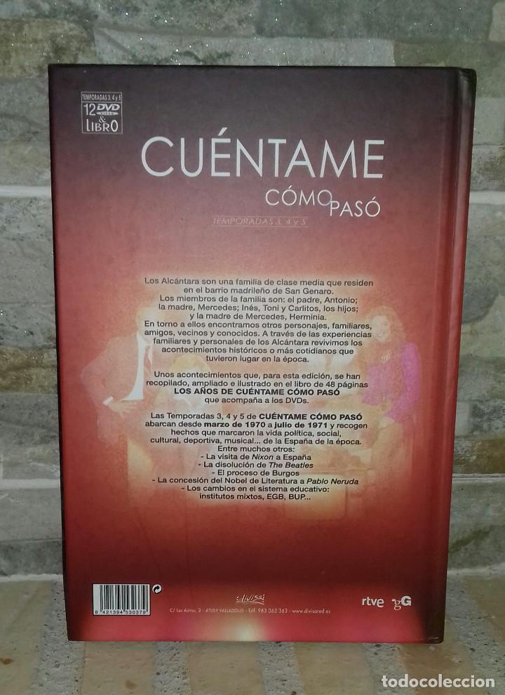 Series de TV: Libro Cuéntame Cómo Pasó. Temporada 3-4-5 - Foto 2 - 97479315