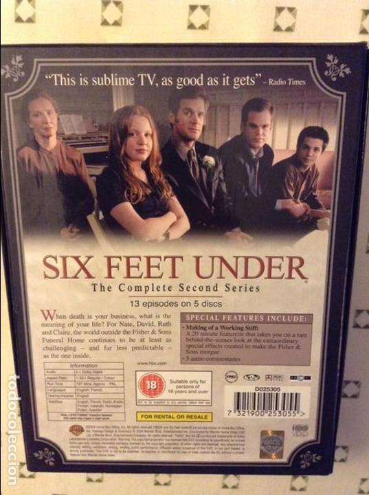 Series de TV: SIX FEET UNDER. THE COMPLETE SECOND SERIES (EN INGLES) - Foto 2 - 97538571