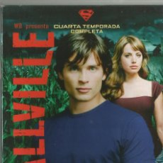 Series de TV: PACK SMALLVILLE: CUARTA TEMPORADA. Lote 99338651