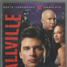 Series de TV: SMALLVILLE (6ª TEMPORADA) (DVD). Lote 98042547