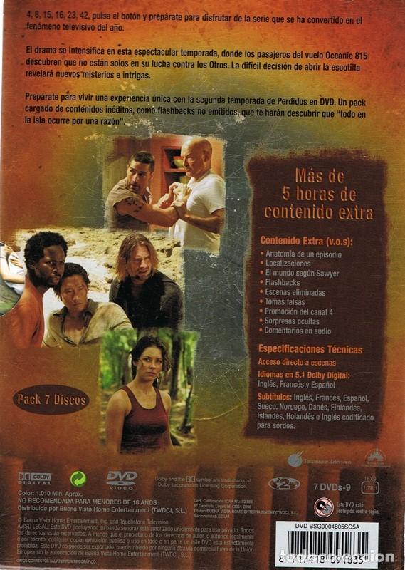 Series de TV: DVD PERDIDOS SEGUNDA TEMPORADA (7 DVD) - Foto 2 - 98054067