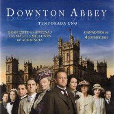 Series de TV: DVD DOWNTON ABBEY TEMPORADA UNO ( 3 DVD). Lote 98055211