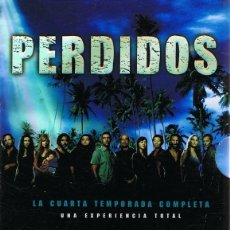 Series de TV: DVD PERDIDOS CUARTA TEMPORADA COMPLETA (6 DVD). Lote 98055523