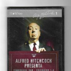 Cine: ALFRED HITCHCOCK PRESENTA TEMPORADA UNO - EPISODIOS 1-4 - SERIES EL MUNDO DVD.. Lote 98116695